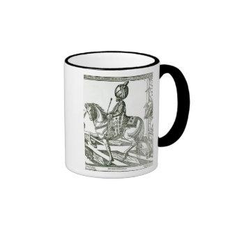 Portrait of Suleiman the Magnificent Ringer Coffee Mug