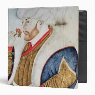 Portrait of Sultan Mehmet II Vinyl Binder