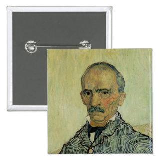 Portrait of Superintendant Trabuc Button