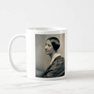 Portrait of Susan Brownell Anthony 1850 Classic White Coffee Mug