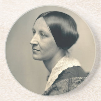 Portrait of Susan Brownell Anthony 1850 Drink Coaster