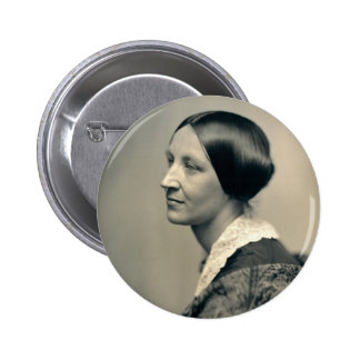 Portrait of Susan Brownell Anthony 1850 Pinback Button