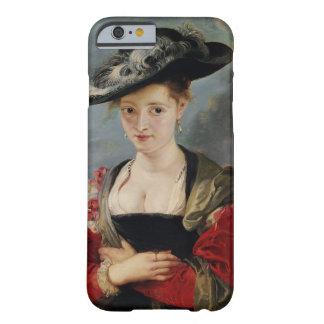 Portrait of Susanna Lunden (?) (Le Chapeau de Pail Barely There iPhone 6 Case