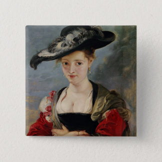 Portrait of Susanna Lunden (?) (Le Chapeau de Pail Button