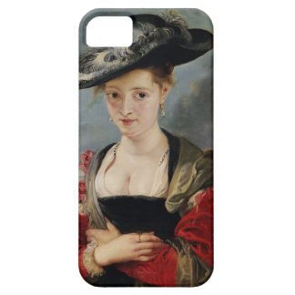 Portrait of Susanna Lunden (?) (Le Chapeau de Pail iPhone SE/5/5s Case