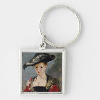 Portrait of Susanna Lunden (?) (Le Chapeau de Pail Keychain
