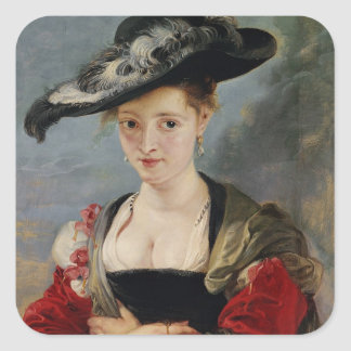 Portrait of Susanna Lunden (?) (Le Chapeau de Pail Stickers