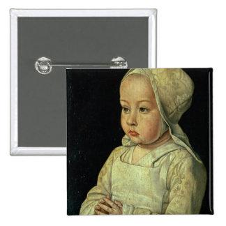 Portrait of Suzanne of Bourbon (1491-1521) daughte Button