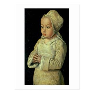 Portrait of Suzanne of Bourbon (1491-1521) daughte Postcard