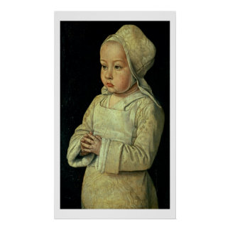 Portrait of Suzanne of Bourbon (1491-1521) daughte Poster