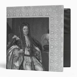 Portrait of Sydney, First Earl of Godolphin 3 Ring Binder