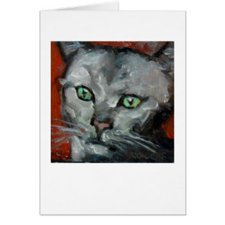 """Portrait of Sylva"" Card"
