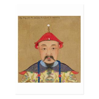 Portrait of T ai T sin Che-Tsou 1638-61 Post Card