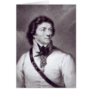 Portrait of Tadeusz Kosciuszko Card