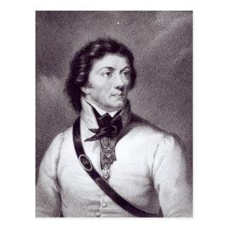 Portrait of Tadeusz Kosciuszko Postcard