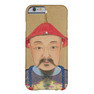 Portrait of T'ai T'sin Che-Tsou (1638-61) Barely There iPhone 6 Case
