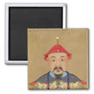 Portrait of T'ai T'sin Che-Tsou (1638-61) Magnets