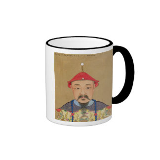 Portrait of T'ai T'sin Che-Tsou (1638-61) Mugs