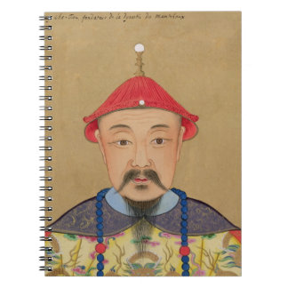 Portrait of T'ai T'sin Che-Tsou (1638-61) Journal