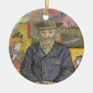 Portrait of tangi pop ceramic ornament
