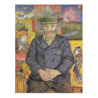 Portrait of tangi pop postcard