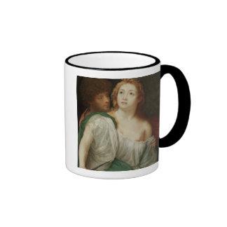 Portrait of Tarquin and Lucretia Ringer Coffee Mug