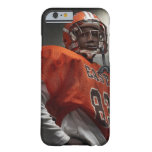 Portrait of teenage (14-15) American football iPhone 6 Case