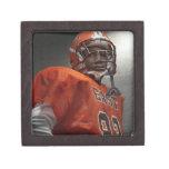 Portrait of teenage (14-15) American football Premium Gift Boxes