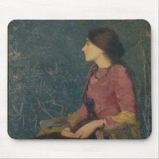 Portrait of Thadee-Caroline Jacquet Mouse Pad