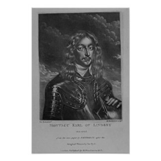 Portrait of the 2nd Earl of Lindsay Poster