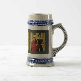 Portrait Of The à ‰ Tienne Chevalier With St. Step Mug