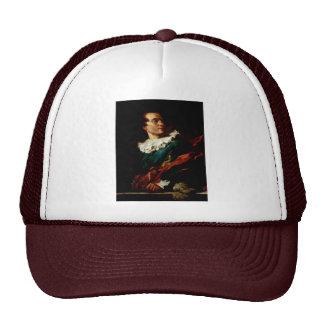 Portrait Of The Abbé De Saint-Non In A Fancy Dress Trucker Hats
