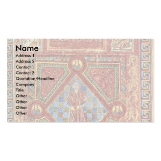 Portrait Of The Abbot Ramwoldus By Adalpertus Double-Sided Standard Business Cards (Pack Of 100)