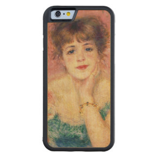 Portrait of the actress Jeanne Samary 1877 Carved® Maple iPhone 6 Bumper Case