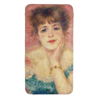 Portrait of the actress Jeanne Samary, 1877 Galaxy S4 Pouch