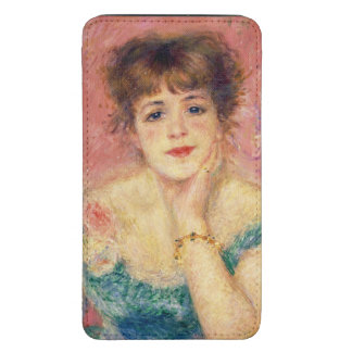 Portrait of the actress Jeanne Samary, 1877 Galaxy S5 Pouch