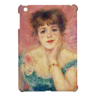 Portrait of the actress Jeanne Samary, 1877 iPad Mini Cases