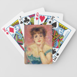 Portrait of the actress Jeanne Samary, 1877 Card Decks