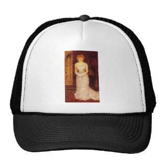 Portrait Of The Actress Jeanne Samary by Renoir Trucker Hat