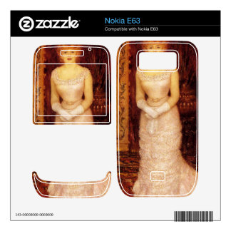 Portrait Of The Actress Jeanne Samary by Renoir Skins For Nokia E63