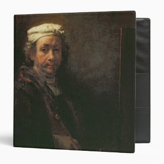 Portrait of the Artist at his Easel, 1660 Binders