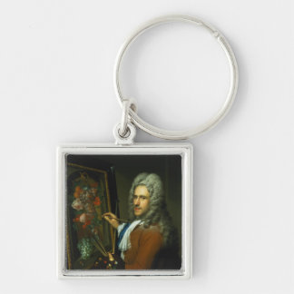 Portrait of the artist Coenraet Roepel Keychain
