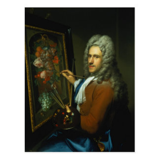 Portrait of the artist Coenraet Roepel Postcard