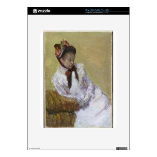 Portrait of the Artist - Mary Cassatt Decal For The iPad