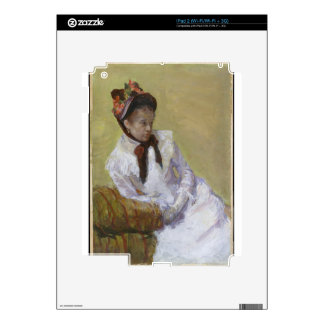 Portrait of the Artist - Mary Cassatt Decal For The iPad 2
