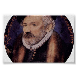 Portrait Of The Artist S Father Richard Hilliard Poster