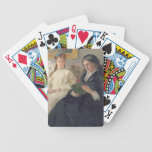 Portrait of the Artist's mother and sister Bicycle Playing Cards