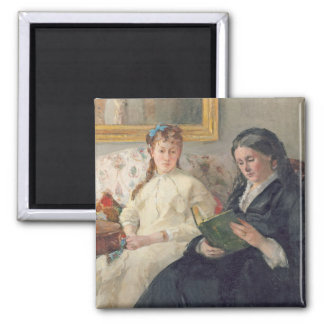 Portrait of the Artist's mother and sister Magnet