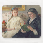 Portrait of the Artist's mother and sister Mouse Pad