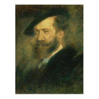 Portrait of the Artist Wilhelm Busch , c.1878 Postcard